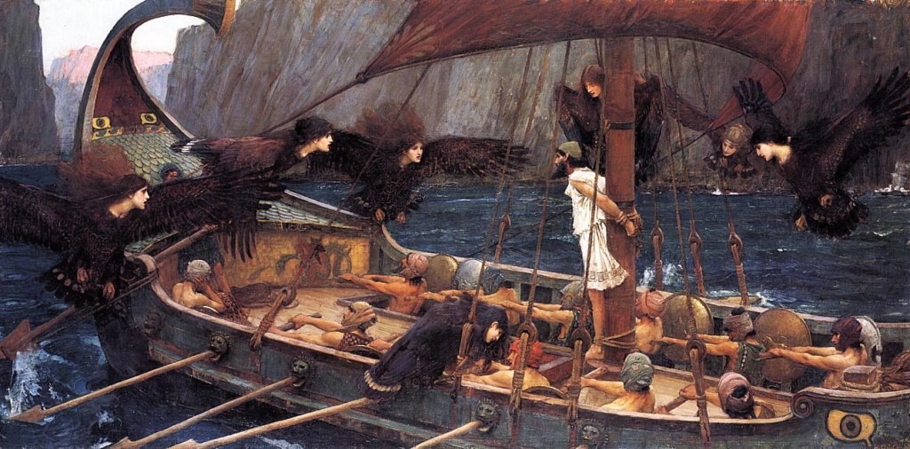 John William Waterhouse (1849-1917), ''Ulysses and the Sirens'' (1891)