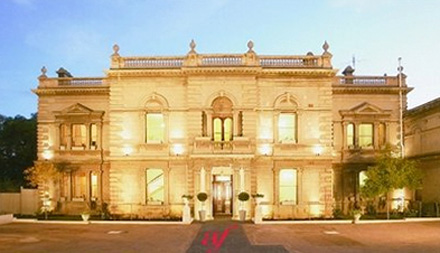 The grand mansion of the Alliance Francaise de Melbourne