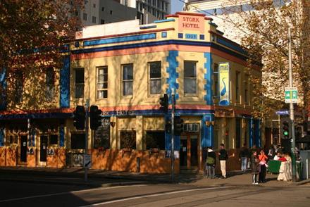 The Stork Hotel, Elizabeth Street, Melbourne