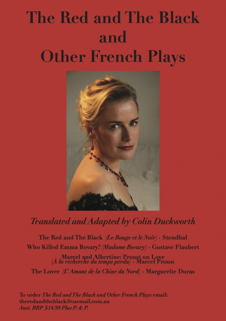 The Flyer -The Red and the Black and other French Plays saved 240315
